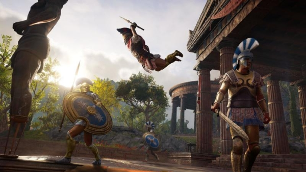 Assassin's Creed Odyssey, game, action, Assassin's Creed