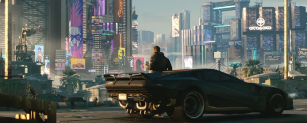 Cyberpunk 2077: транспортные средства и другие подробности
