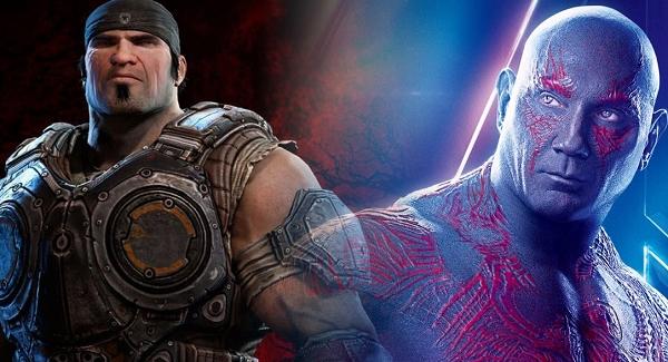 Дэйв Батиста просится в фильм Gears of War
