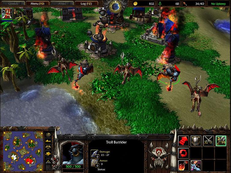 Warcraft III: The Frozen Throne, дополнение к главной стратегии последнего
