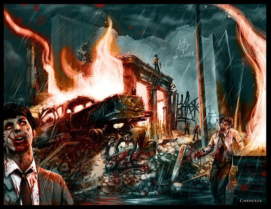 Зомби апокалипсис в кино