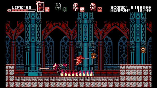 Обзор Bloodstained: Curse of the Moon