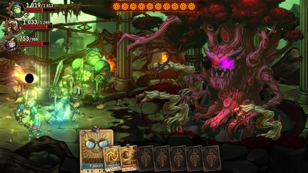 Обзор SteamWorld Quest: Hand of Gilgamesh