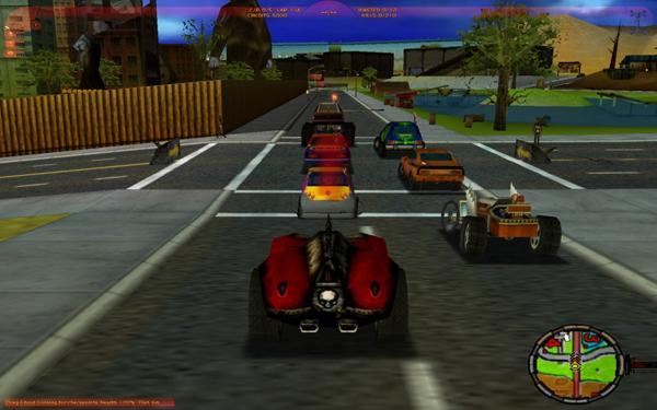 Обзор Carmageddon: The Death Race 2000