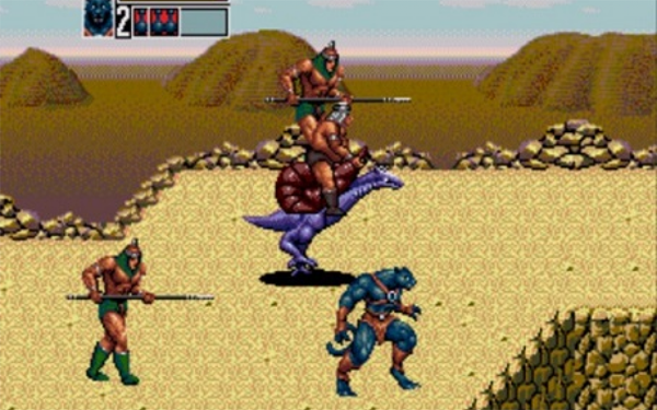 Обзор Golden Axe 3