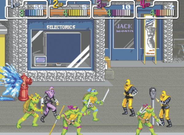 Обзор Teenage Mutant Ninja Turtles: The Arcade Game