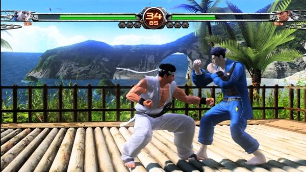 Обзор Virtua Fighter 5