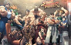 Capcom представила Street Fighter 30th Anniversary