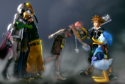 Компиляция Kingdom Hearts для PlayStation 4